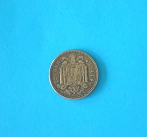 Piece - espagne - 1944 - 1 peseta