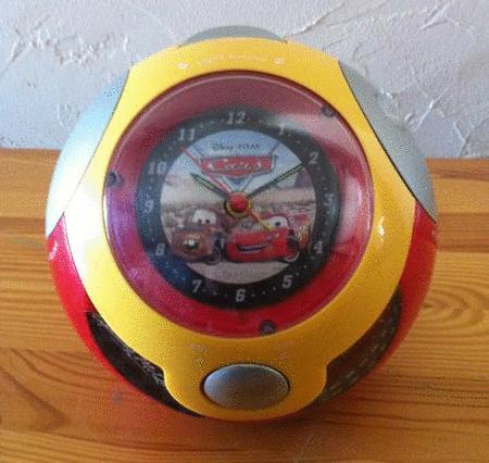 Achat : Cars flash mc queen et martin radio reveil ballon  (Horloges - pendules) - Horloges - pendules neuf et d'occasion - Achat et vente