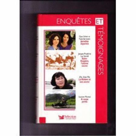 Achat : Enquetes et temoignages - 4 titres par livres  (Litterature) - Litterature neuf et d'occasion - Achat et vente