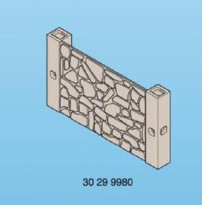 Mur de pierre cloison  playmobil