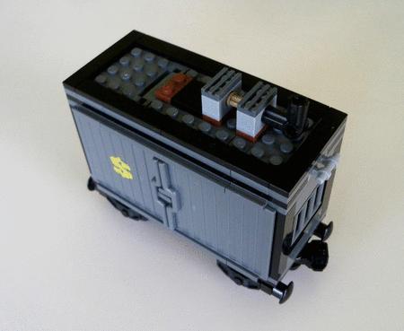 Achat : Lego disney toys story train wagon gris western  (Lego) - Lego neuf et d'occasion - Achat et vente