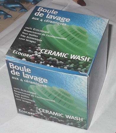 Achat : Boule de lavage aux 4 céramiques  (Entretien linge) - Entretien linge neuf et d'occasion - Achat et vente
