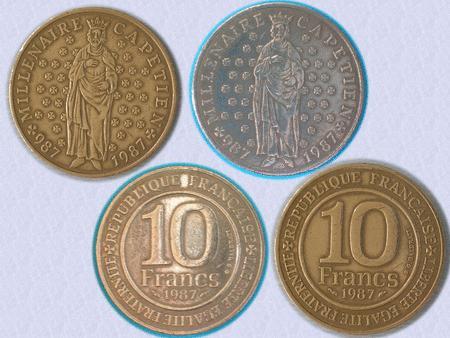 Achat : Belle piece de 10 f - millenaire capetien - 1987  (Pièces) - Pièces neuf et d'occasion - Achat et vente