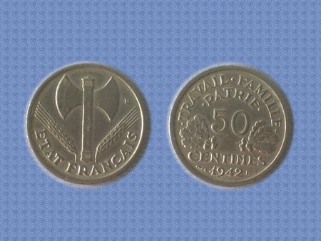 Achat : Piece - france - 1942 - 50 cts  (Pièces) - Pièces neuf et d'occasion - Achat et vente