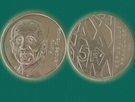 Achat : Piece de 5 f - 1992 - pierre mendes-france  (Pièces) - Pièces neuf et d'occasion - Achat et vente