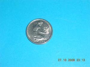 Pièce - allemagne - 1968 - 50 pfennig