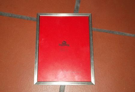 Achat : Cadre sous verre avec bordure métalique  (Cadres) - Cadres neuf et d'occasion - Achat et vente