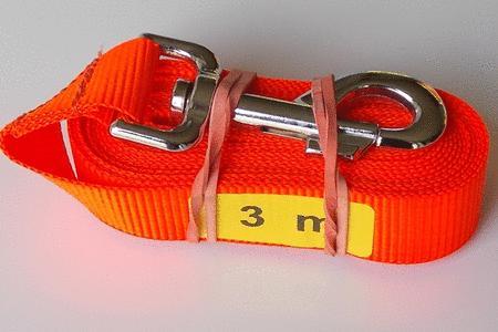 Achat : Longe 3 m orange fluo  (Laisse pour chiens) - Laisse pour chiens neuf et d'occasion - Achat et vente