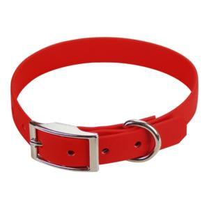 Collier biothane beta 19 x 45 cm rouge