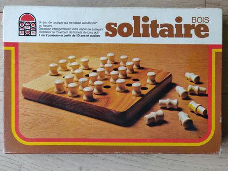 Achat : Jeu bois solitaire  (Autres jeux de rôle & stratégie) - Autres jeux de rôle & stratégie neuf et d'occasion - Achat et vente