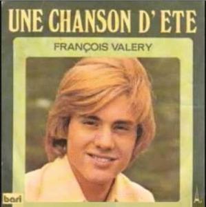 Francois valery une chanson d'ete