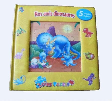 Achat : 5 puzzles livre nos amis dinosaures  (Jeunesse & eveil (livres)) - Jeunesse & eveil (livres) neuf et d'occasion - Achat et vente