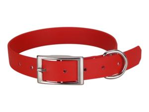 Collier biothane beta 25 x 55 cm rouge