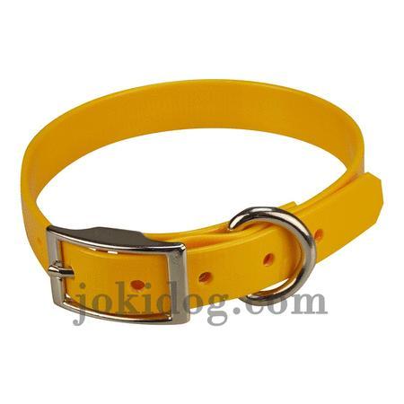 Achat : Collier biothane 19 mm x 45 cm jaune oeuf  (Colliers pour chiens) - Colliers pour chiens neuf et d'occasion - Achat et vente