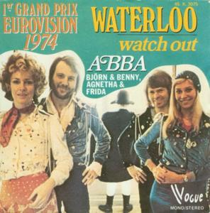 Abba waterloo - watch out