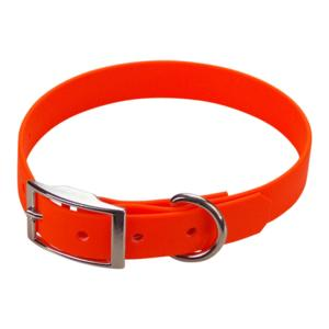 Collier biothane beta 19 x 45 cm orange