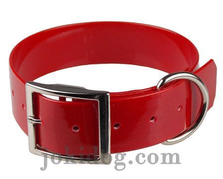 Achat : Collier biothane 38 mm x 60 cm rouge  (Colliers pour chiens) - Colliers pour chiens neuf et d'occasion - Achat et vente