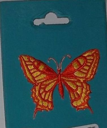 Achat : Sticker brodé thermocollant : papillon  (Autres jeux créatifs) - Autres jeux créatifs neuf et d'occasion - Achat et vente