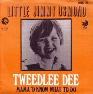 Little jimmy osmond tweedlee dee