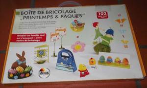 """Boîte de bricolage """"printemps & pâques"""""""