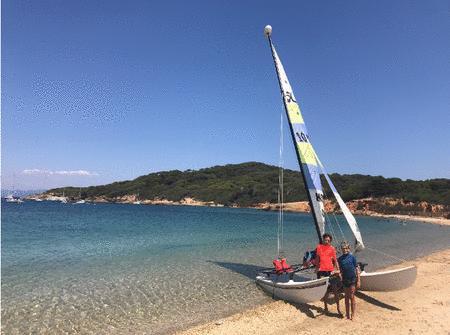 Achat : Hobie cat 16 basé au yacht club de toulon  (Bateaux àvoile) - Bateaux àvoile neuf et d'occasion - Achat et vente