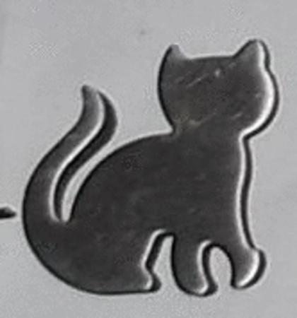 Achat : Magnet chat métal  (Autres objets décoratifs) - Autres objets décoratifs neuf et d'occasion - Achat et vente