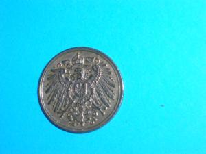 Pièce - allemagne - 1 pfennig - 1909