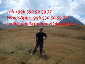 Guide, driver in kyrgyzstan, travel, hiking, excur