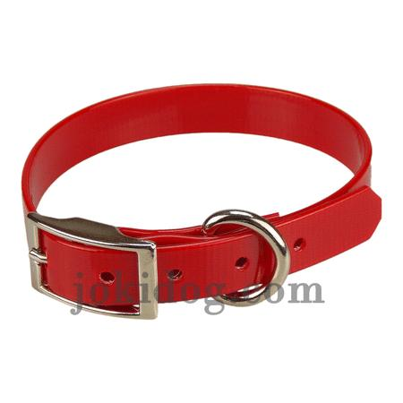 Achat : Collier biothane 19 mm x 45 cm rouge  (Colliers pour chiens) - Colliers pour chiens neuf et d'occasion - Achat et vente