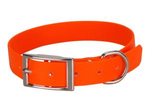 Collier biothane beta 25 x 55 cm orange