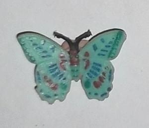 Magnet papillon 10