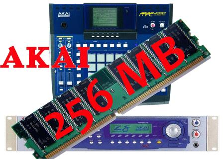 Barette mémoire 256 mo pr Sampler Akai Z4 MPC4000