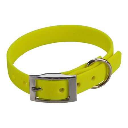 Achat : Collier biothane beta 16 x 35 cm jaune  (Colliers pour chiens) - Colliers pour chiens neuf et d'occasion - Achat et vente