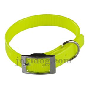 Collier biothane 16 mm x 35 cm jaune
