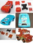 VEHICULE MODULABLE CARS LEGO Mega Bloks Disney (Briques De Construction) - Briques De Construction neuf et d'occasion - Achat et vente