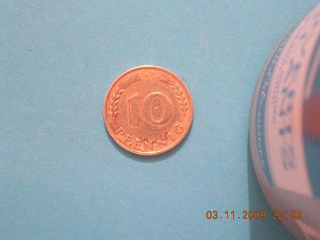 Achat : Pièce - allemagne - 10 pfennig - 1950  (Pièces) - Pièces neuf et d'occasion - Achat et vente