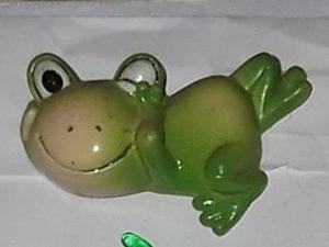 Magnet grenouille gauche