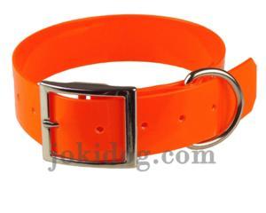 Collier biothane 38 mm x 60 cm orange