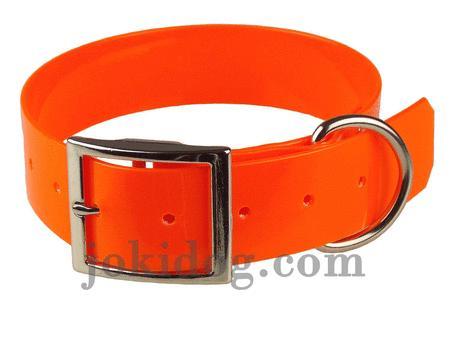 Achat : Collier biothane 38 mm x 60 cm orange  (Colliers pour chiens) - Colliers pour chiens neuf et d'occasion - Achat et vente