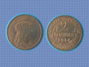 Magnifique pièce de 2 cts – 1914 - daniel-dupuis