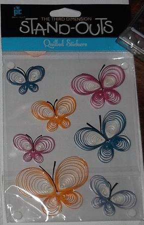 Achat : Stickers papillons 3d  (Autres jeux créatifs) - Autres jeux créatifs neuf et d'occasion - Achat et vente