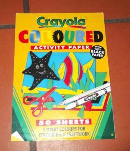 Loisirs créatifs - scrapbooking- papier de couleur
