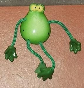Magnet ficelle grenouille