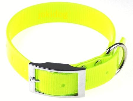 Achat : Collier hunt us 25mm jaune fluo  (Colliers pour chiens) - Colliers pour chiens neuf et d'occasion - Achat et vente