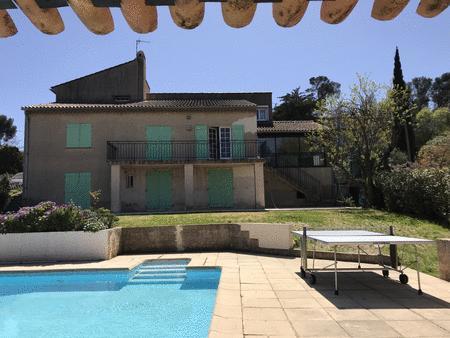 Achat : Grande villa 11 pers. 5 ch. piscine. plage à pied  (Locations vacances) - Locations vacances neuf et d'occasion - Achat et vente