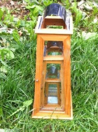 Achat : Joli ensemble de 3 lanternes bougeoirs bois verre  (Bibelots) - Bibelots neuf et d'occasion - Achat et vente