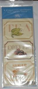 Etiquettes adhésives sur papier vergé - g. lalo