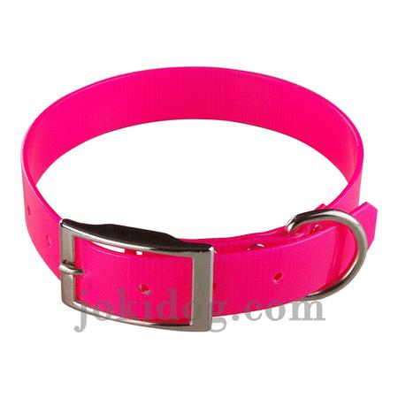 Achat : Collier biothane 25 mm x 55 cm rose  (Colliers pour chiens) - Colliers pour chiens neuf et d'occasion - Achat et vente