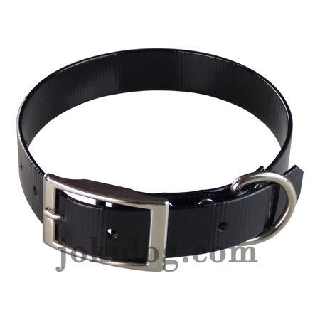 Achat : Collier biothane 25 mm x 60 cm noir  (Colliers pour chiens) - Colliers pour chiens neuf et d'occasion - Achat et vente