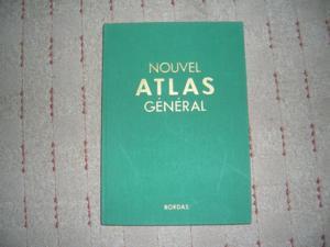 """Collection : """"nouvel"""" atlas general bordas"""